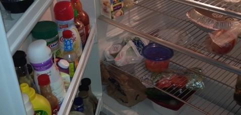 Dirty Office fridge