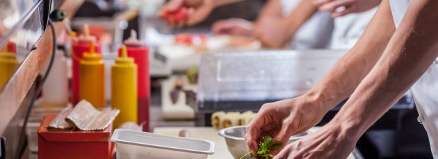Restaurant Kitchen Scene