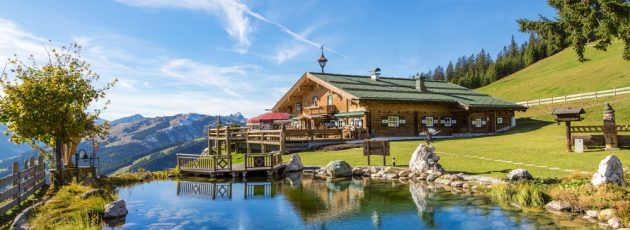 Resort in the mountains