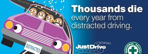Distracted Driving Awareness Month 2018