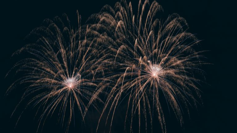time-lapse photography of fireworks